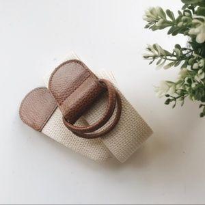 Vintage Talbots D Ring Belt